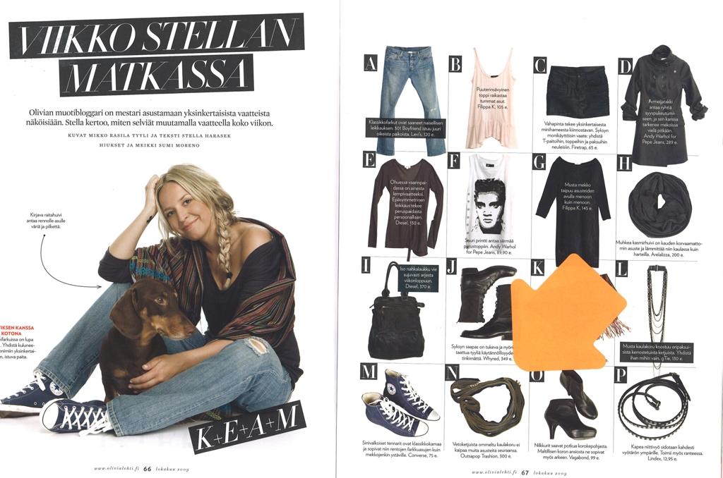 Olivia Magazine October 2009