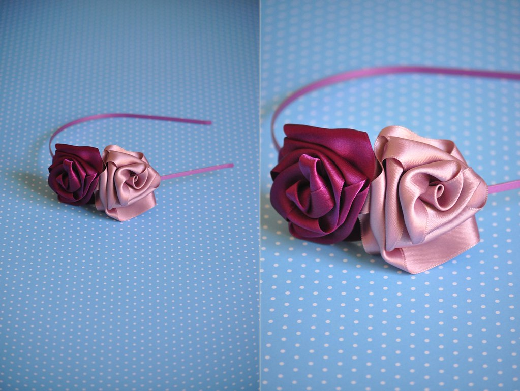 Headband Rose 01