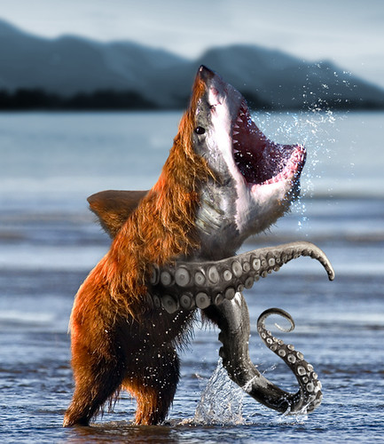 tentacled shark bear of EPIC awesomeness