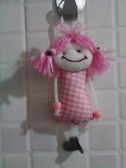 Bonequinha de tecido (Luiza Goodgroves) Tags: chaveiro bonecadepano lembrancinhadechdebeb