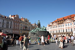 Jan Hus monument (Liezel&Ed) Tags: prague oldtownsquare staremesto