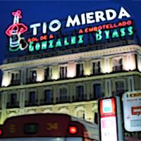 El luminoso de González Mierdas (Plaza del Sol, Madrid)