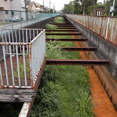artificial ditch at Higashi Kanamachi 03