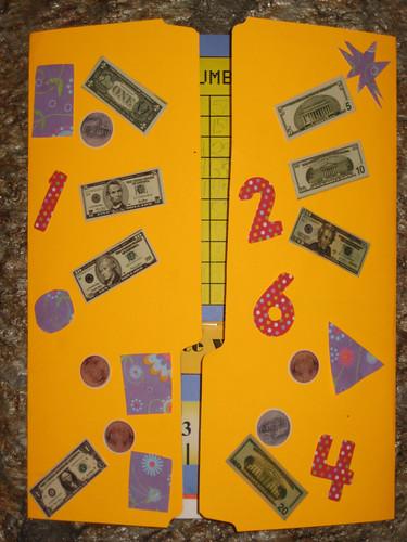 Math Lapbook Cover
