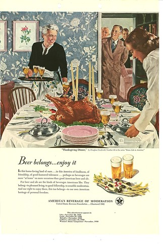 049. Thanksgiving Dinner by Douglass Crockwell, 1950