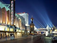 Boardwalk Casinos at Dusk, Atlantic City, New Jersey (AmazingShotsINC) Tags: newjersey atlanticcity boardwalkcasinosatdusk