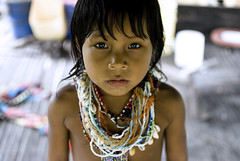 Embera girl (j.wilkiewicz) Tags: portrait girl village native indian traditional littlegirl indians panama darien embera indigenous neckless marea joungle jarwiczblog jwilkiewicz