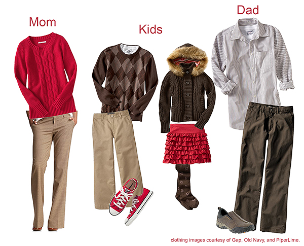 What to Wear - Brown/Red
