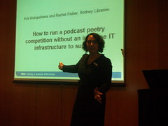 Kris Wehipeihana - How to run a podcast poetry competition