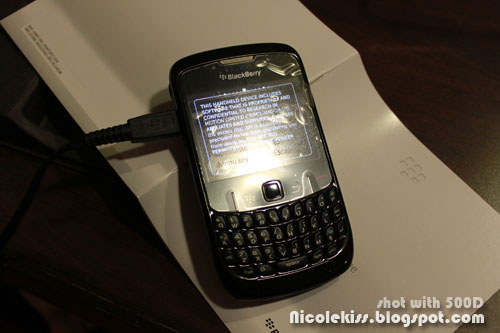 my new blackberry curve 8520