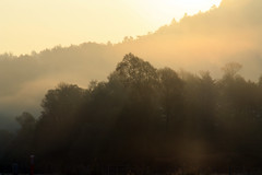 Around Ljubljana (Alessandra47 D.G.) Tags: fog sunrise slovenia aurora ljubljana nebbia gmt fiatlux lubiana abigfave anawesomeshot alessandra47 creattivit canoneos1000d superstarthebest