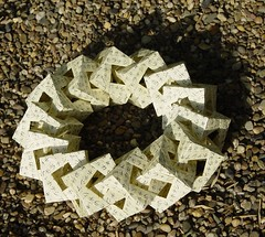 Origami - Ring (Tagfalter) Tags: origami modular cube