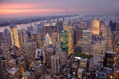 Megalights (cuellar) Tags: city nyc urban newyork skyscraper geotagged