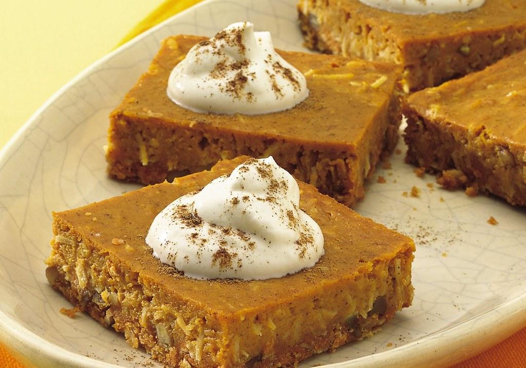 Recipe: Pumpkin Pie Squares