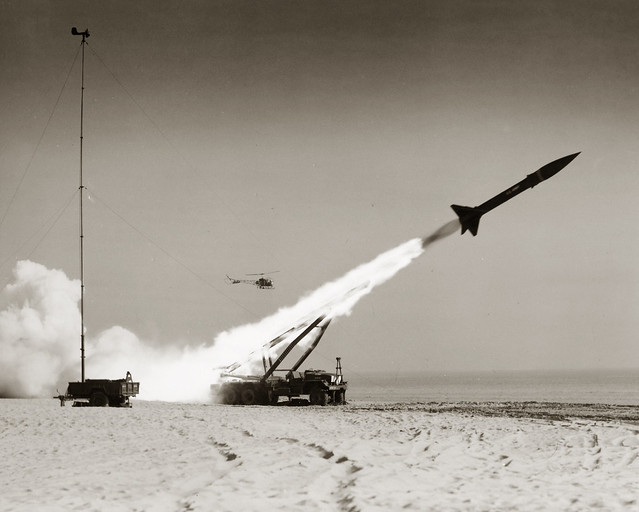 Missile Launch 2 - United States Army Southern European Task Force (SETAF) Historical Photo by US Army Africa
