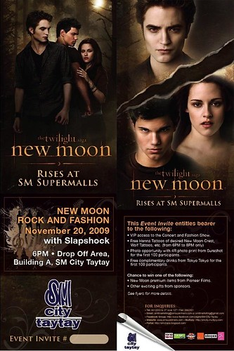 New Moon invite edit
