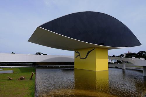 Museu Oscar Niemeyer - Curitiba (PR) - Brazil