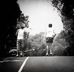 (Jack Toohey) Tags: portrait white motion black magazine jack grunge skating teenagers retro skate greyscale sytle toohey jacktoohey