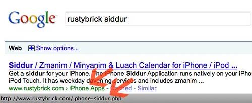 Google Breadcrumb URLs