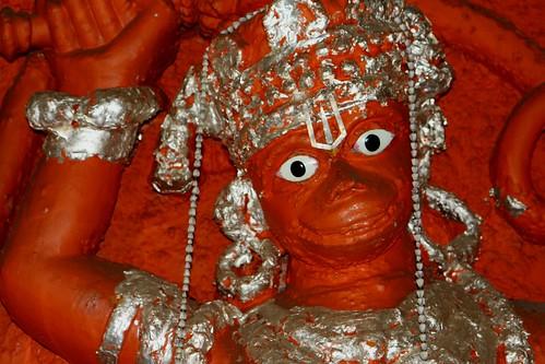 Junagadh Uperkot Fort Hanuman