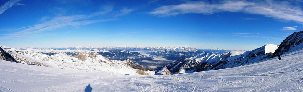 Kitzsteinhorn wide slopes