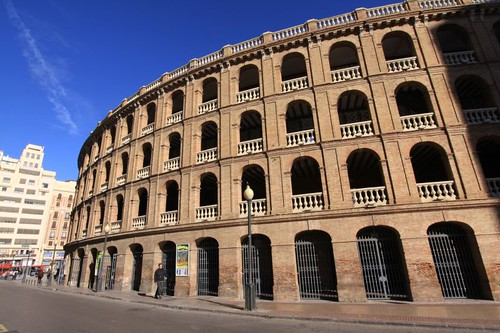 Valencia's Placa de Toros (bullring)...