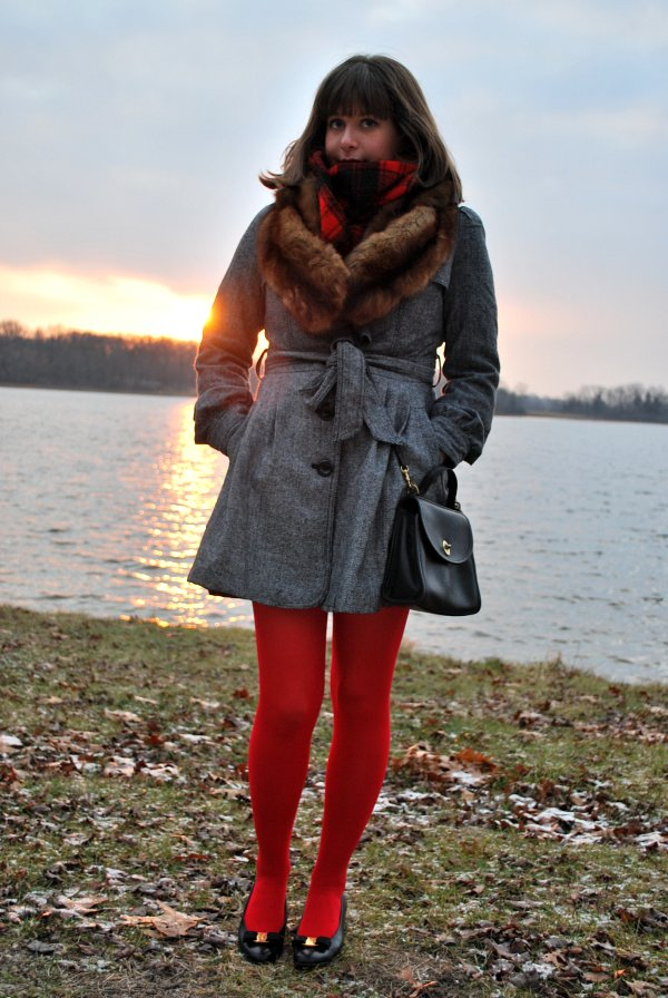 Holiday Look #1: Red Sunset
