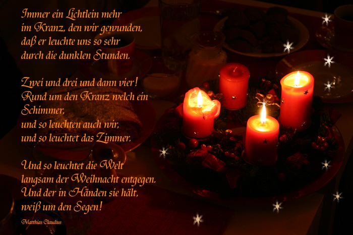 Adventsgedicht