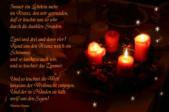 1 Advent Gedicht Lustig