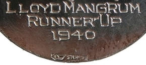1940 Augusta Masters Runner-Up hallmark