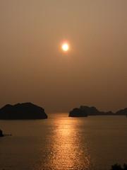 Sunrise on Cat Ba Island