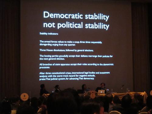 Democratic stability