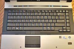 notebook keyboard laptop touchpad pointingstick fingerprintreader core2duo elitebook hp8530p