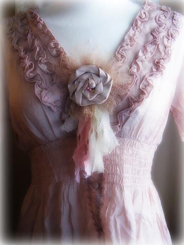 Misty Pink Romance Top