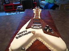 Flying V Cake