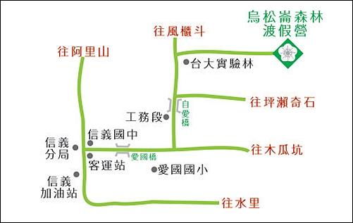 烏松崙賞梅路線圖2