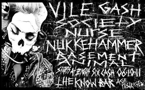 6/10/11 VileGash/Nukkehammer/BasementAnimal