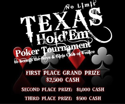 Boys and Girls Club Poker Tournament
