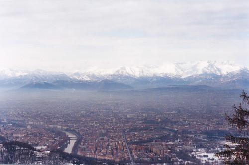 Turin e os Alpes