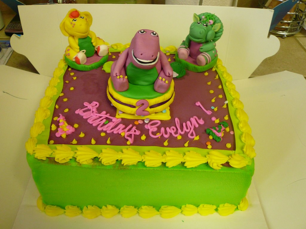 Bj S Cake Decoration Packet : The World s Best Photos of barney and barneyandfriends ...