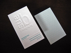 Sue B Photography Letterpress