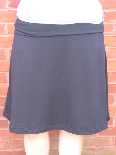 Black Yoga Skirt
