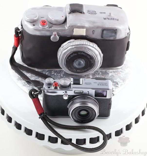Fuji x100 Birthday Cake
