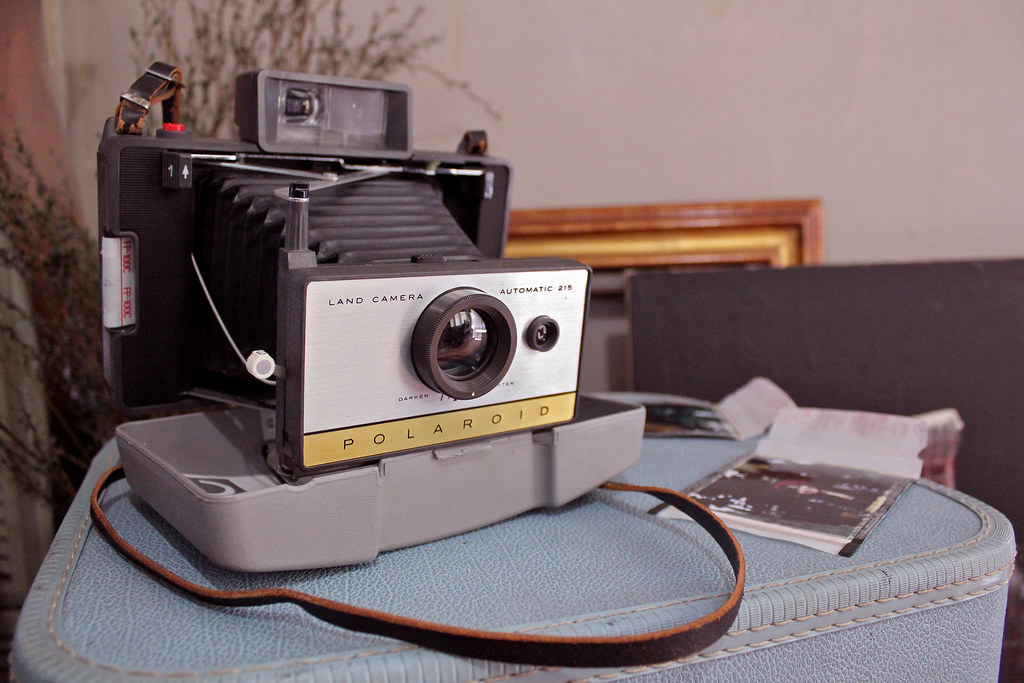 Polaroid Land Camera 215