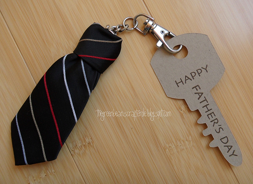 Neck Tie Keychain - Tutorial