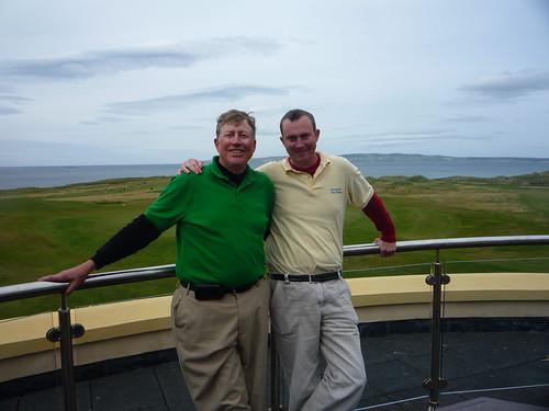 Paul and Erik at Tralee