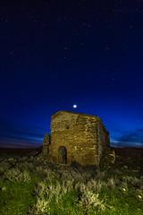 Venus. (Martika64) Tags: home house grass abandonedhouse sky stars illumination color colorimage longexposure outdoor noperson