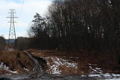 20170218161858_IMG_3751 (arielandrew) Tags: woods outdoor adventure glen lyon glenlyon powerlines power lines mud snow 50mm canon rebel t6i