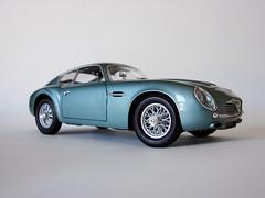 1961 Aston Martin DB4 GT Zagato (montanaman1) Tags: scale model martin db4 gt ming aston 1961 yat 118 zagato