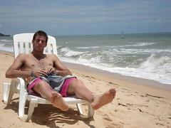 Delpo en la playa (RoxyArg) Tags: de fotos sexies masculinos tenistas